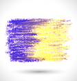 colorful pastel brush vector image vector image