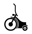 electric personal transporter vector image vector image