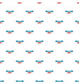 ribbon veterans day pattern seamless vector image vector image