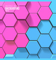 sceince geometric background vector image vector image