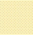 seamless pattern with yellow stars on yellow vector image vector image