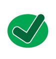tick check mark icon vector image vector image