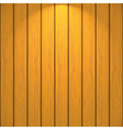 Wooden wall vector image vector image