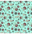 Small summer flowers vector image