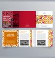brochure design 902 vector image vector image