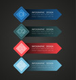 business steb options banner4 vector image vector image