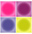 comic multicolored halftone background vector image vector image