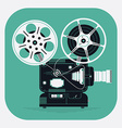 Movie Projector Icon vector image vector image