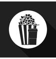 pop corn design vector image vector image