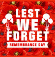 poster for world remembrance day