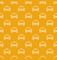 taxi car pattern cab concept seamless vector image vector image
