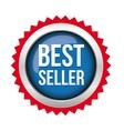 Best Seller badge vector image vector image