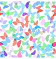 Colorful butterflies set summer seamless pattern vector image vector image