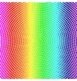 colorful radial background with rainbow mosaic vector image vector image