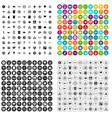100 symbol icons set variant vector image