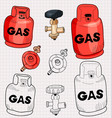 gas vector image