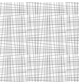 seamless irregular thread grid pattern vector image