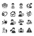set people icons such as engineering team