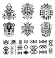 Tribal elements collection vector image vector image