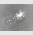 Abstract lens gold front solar flare transparent