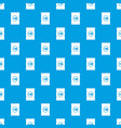 chips plastic bag pattern seamless blue vector image vector image