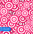 Colorful Circles Seamless Background vector image vector image