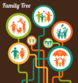 FamilyTree vector image vector image
