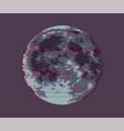 full moon dark moon vector image vector image