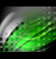 neon holographic fluid color wave for web vector image vector image