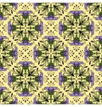 Seamless ornamental pattern with flowers vector image vector image