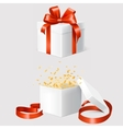 set two gift boxes vector image