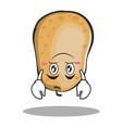 upside down potato character cartoon style vector image vector image