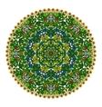 Colorful mandala hand drawn vector image