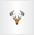 deer logo symbol icon vector image vector image