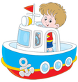 Little seaman vector image vector image