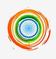 stylish creative indian flag