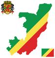 Republic of Congo Flag vector image