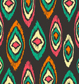 Boho seamless pattern vintage colorful background vector image vector image