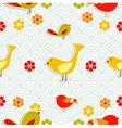 Fresh floral season pattern vector image vector image