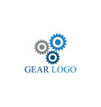 gear logo template icon design vector image