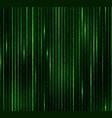 green matrix background 1 0 data algorithm inte vector image