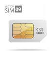 SimCard03 vector image vector image