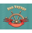 Bon Voyage vector image