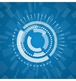 abstract texture with circles vector image vector image