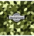 Camouflage military pattern with petals background vector image vector image