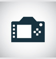 dslr icon for web and ui on white background vector image