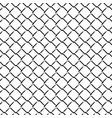 fence grid monochrome seamless pattern vector image vector image