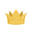 golden ancient crown classic heraldic imperial vector image