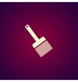 Paint brush icon - vector image vector image