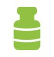 spa bottle symbol vector image